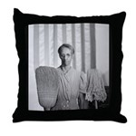 Mrs. Ella Watson Throw Pillow