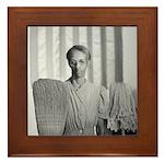 Mrs. Ella Watson Framed Tile