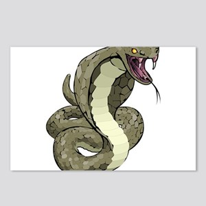 Angry Snake Postcards (Package of 8)