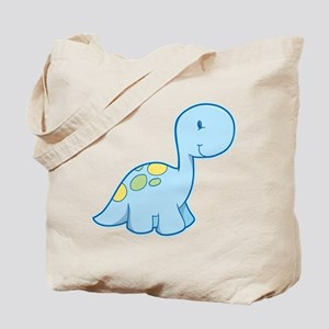Cute Baby Dinosaur Tote Bag