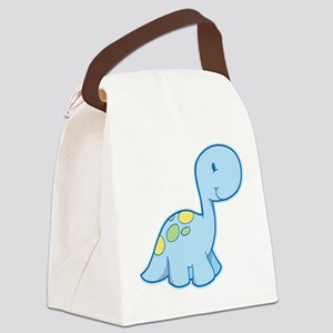 Cute Baby Dinosaur Canvas Lunch Bag