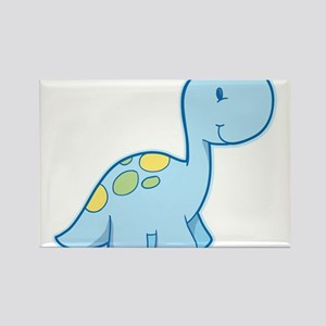 Cute Baby Dinosaur Rectangle Magnet