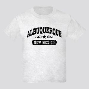 Albuquerque New Mexico Kids Light T-Shirt