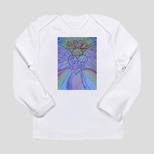 Let Love, Let God Rainbow Angel Long Sleeve T-Shir