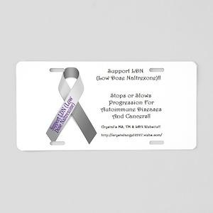LDN Aluminum License Plate