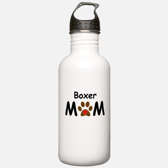 Boxer Mom Water Bottle