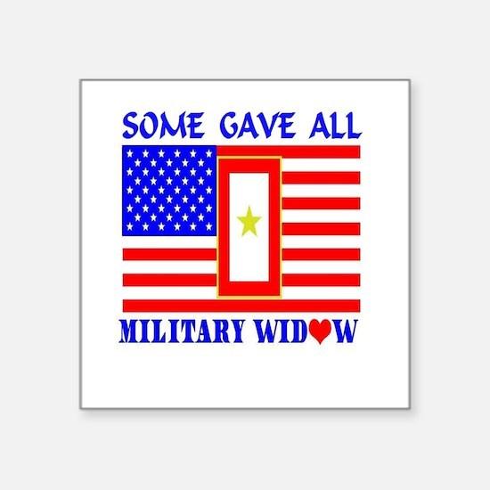 Some Gave All Widow Sticker