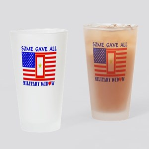 Some Gave All Widow Drinking Glass