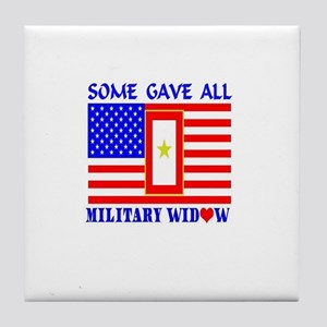 Some Gave All Widow Tile Coaster