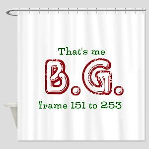 BG 151-253 Shower Curtain