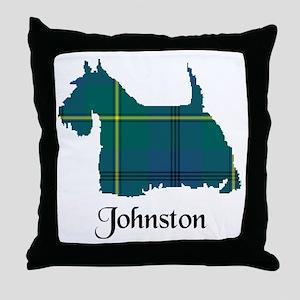 Terrier - Johnston Throw Pillow