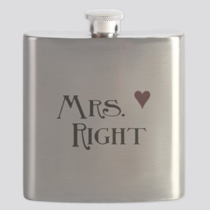 Mrs. right Flask