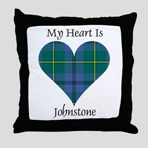Heart - Johnstone Throw Pillow