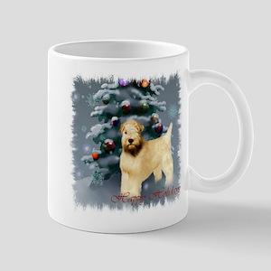 Wheaten Terrier Christmas 11 oz Ceramic Mug