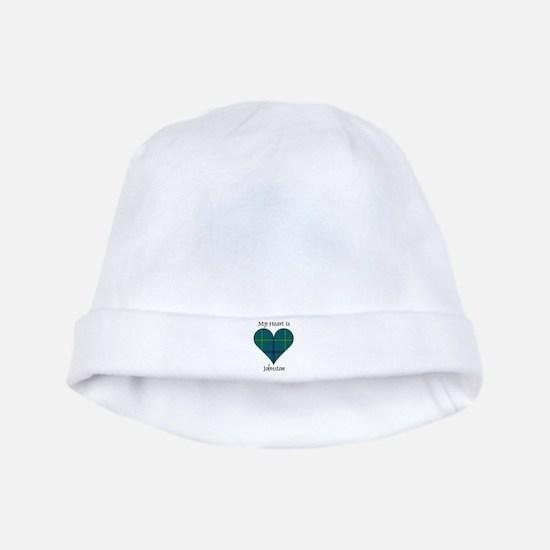 Heart - Johnston baby hat