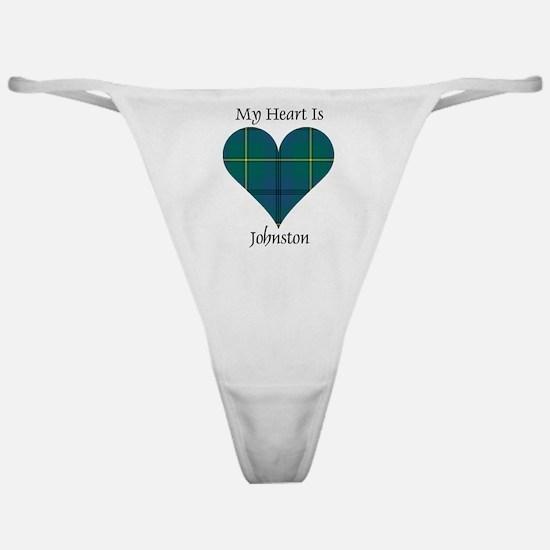 Heart - Johnston Classic Thong