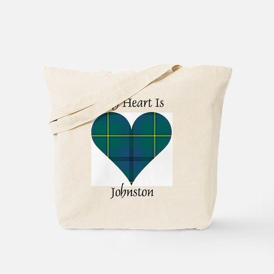 Heart - Johnston Tote Bag