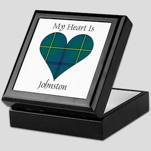 Heart - Johnston Keepsake Box