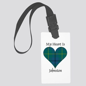 Heart - Johnston Large Luggage Tag