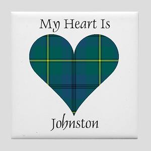 Heart - Johnston Tile Coaster