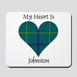 Heart - Johnston Mousepad