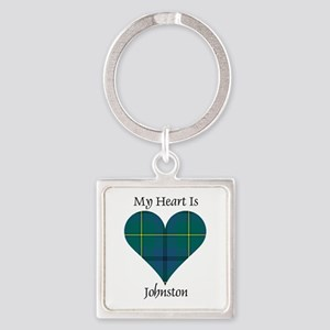 Heart - Johnston Square Keychain