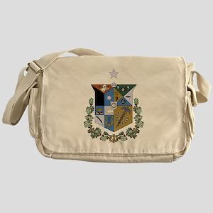 Zeta Psi Crest Messenger Bag