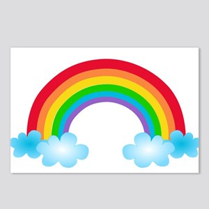 Rainbow & Clouds Postcards (Package of 8)