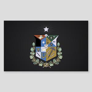 Zeta Psi Crest Sticker (Rectangle)