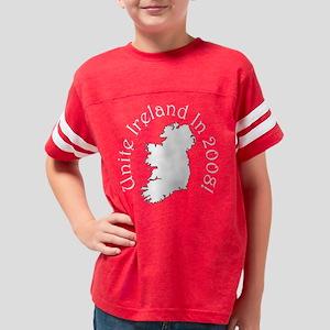 unite08black Youth Football Shirt