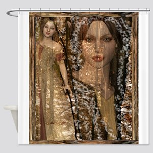 Forest Fae 5ab Shower Curtain