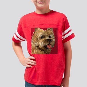 Cairn Terrier Youth Football Shirt