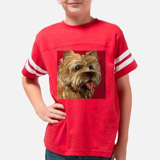 Cairn Terrier Youth Football Shirt