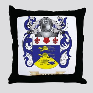 Catta Coat of Arms Throw Pillow