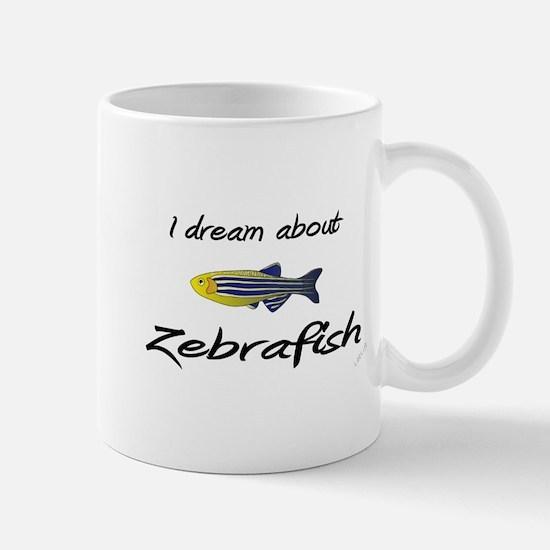 I dream about zebrafish!