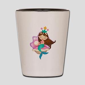 Princess Mermaid Shot Glass