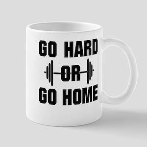 Go Hard or Go Home Workout Mug