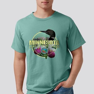 Minnesota State Bird & Flower Mens Comfort Colors