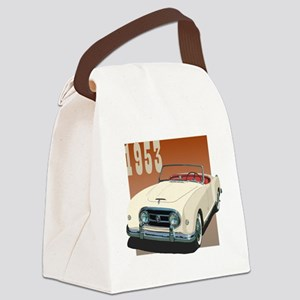 1953 In Cream Canvas Lunch Bag