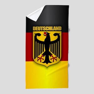 Deutschland Pride Beach Towel