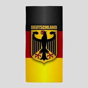 Deutschland Pride.png Beach Towel