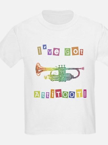 Trumpet Attitude Kids T-Shirt