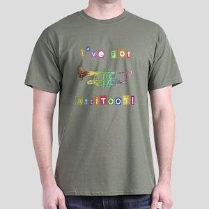 Trumpet Attitude Dark T-Shirt