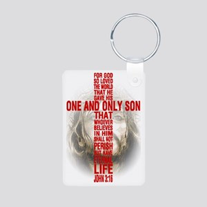 His One and Only Son Aluminum Photo Keychain