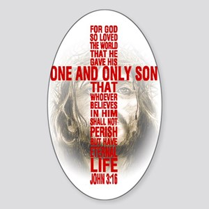 His One and Only Son Sticker (Oval)