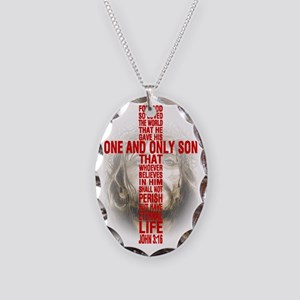 His One and Only Son Necklace Oval Charm