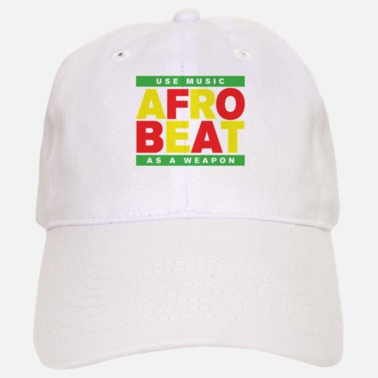 AFROBEAT _ USE MUSIC AS A WEAPON Baseball Baseball Cap