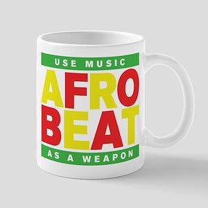 AFROBEAT _ USE MUSIC AS A WEAPON Mug