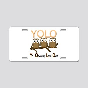 YOLO Aluminum License Plate