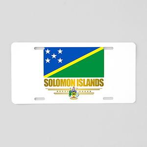 Solomon Islands (Flag 10)2 Aluminum License Pl